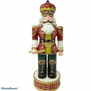 "2016 Fitz & Floyd Holiday Nutcracker Red 15""x6"""